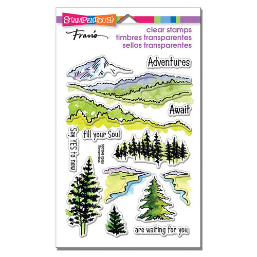 Stampendous - Clear Photopolymer Stamps - Adventure Awaits