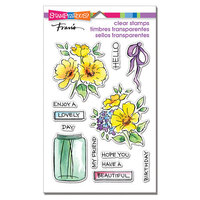 Stampendous - Clear Photopolymer Stamps - Lovely Flowers
