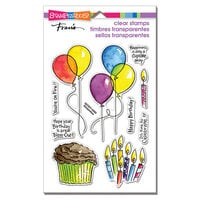 Stampendous - Clear Photopolymer Stamps - Balloons And More