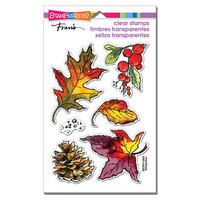 Stampendous - Clear Photopolymer Stamps - Autumn Leaves