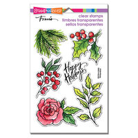 Stampendous - Christmas - Clear Photopolymer Stamps - Leafy Holiday