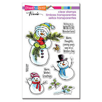 Stampendous - Christmas - Clear Photopolymer Stamps - Wintery Day