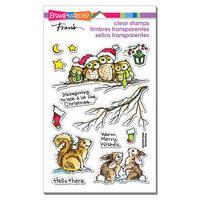 Stampendous - Clear Photopolymer Stamps - Critter Christmas