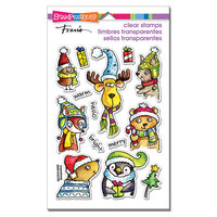 Stampendous - Clear Photopolymer Stamps - Winter Pals