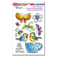 Stampendous - Clear Photopolymer Stamps - Winged Cup