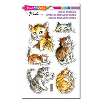 Stampendous - Clear Photopolymer Stamps - Kitty Mischief
