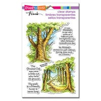 Stampendous - Clear Photopolymer Stamps - Forest Path