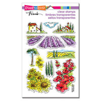 Stampendous - Clear Photopolymer Stamps - Field of Flowers