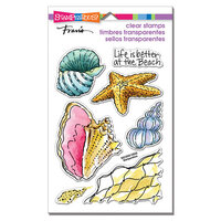 Stampendous - Clear Photopolymer Stamps - Shell Beach