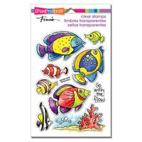 Stampendous - Clear Photopolymer Stamps - Go Fish