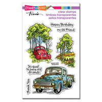 Stampendous - Clear Photopolymer Stamps - Truck Friends