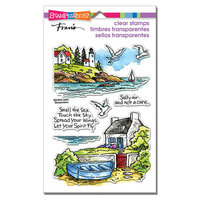 Stampendous - Clear Photopolymer Stamps - Lighthouse Cottage