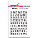 Stampendous - Clear Acrylic Stamps - Small Typewriter Alphabet