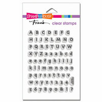Stampendous - Clear Photopolymer Stamps - Tiny Alphabet