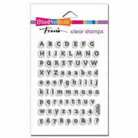Stampendous - Clear Acrylic Stamps - Tiny Alphabet