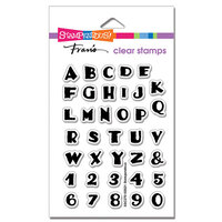 Stampendous - Clear Photopolymer Stamps - Inked Alphabet