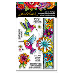 Stampendous - Clear Acrylic Stamps - Hummingbird Wishes