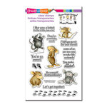 Stampendous - Clear Acrylic Stamps - So Sweet