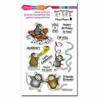 Stampendous - Christmas - Clear Photopolymer Stamps - Celebrate Friends