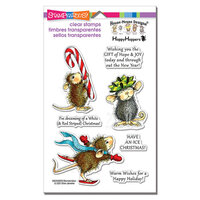 Stampendous - House Mouse Designs - Christmas - Clear Photopolymer Stamps - Holiday Happy