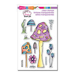 Stampendous - Clear Acrylic Stamps - Mushrooms