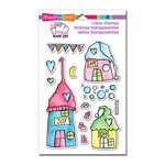 Stampendous - Clear Acrylic Stamps - Whisper Houses