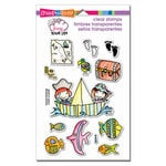 Stampendous - Clear Acrylic Stamps - Whisper Friends - Pirates