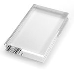 Stampendous - Clear Acrylic Stamp Handle - Small