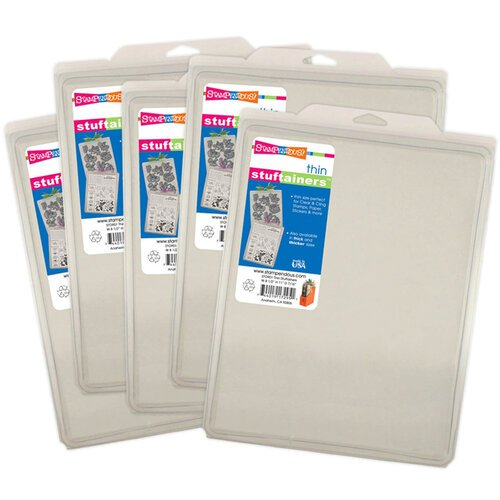 Stampendous - Storage Solutions - Stuftainers - Thin - 5 Pack