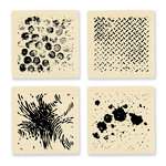 Stampendous - Wood Mounted Stamps - Texture Cube - Quest