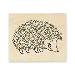 Stampendous - Wood Mounted Stamps - Happy Hedgehog