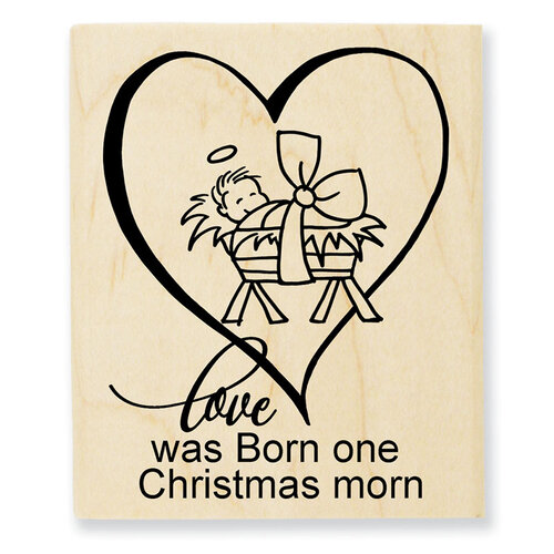 Stampendous - Christmas - Wood Mounted Stamps - Christmas Morn