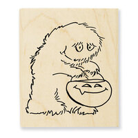Stampendous - Halloween - Wood Mounted Stamps - Big Foot Treat
