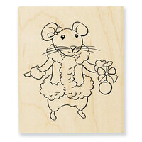 Stampendous - Wood Mounted Stamps - Mrs Mouse