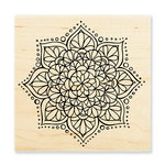 Stampendous - Wood Mounted Stamps - Mandala Flower