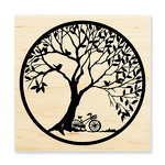 Stampendous - Wood Mounted Stamps - Tree Circle