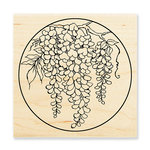 Stampendous - Wood Mounted Stamps - Wisteria Circle