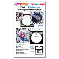 Stampendous - Windowrama Collection - Wedding Card Kit
