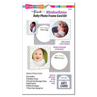 Stampendous - Windowrama Collection - Baby Card Kit