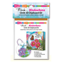 Stampendous - Windowrama Collection - Circle Chipboard Kit