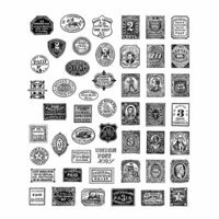 Stampers Anonymous - Tim Holtz - Cling Mounted Rubber Stamp Set - Stamp Collector