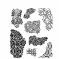 Stampers Anonymous - Tim Holtz - Cling Mounted Rubber Stamp Set - Fragments