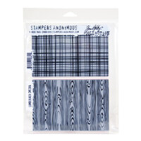 Stampers Anonymous - Christmas - Tim Holtz - Cling Mounted Rubber Stamp Set - Lumberjack