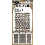 Stampers Anonymous - Tim Holtz - Layering Stencil - Mini Set 27