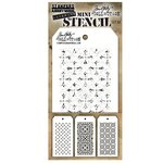 Stampers Anonymous - Tim Holtz - Layering Stencil - Mini Set 30