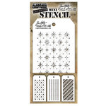 Stampers Anonymous - Tim Holtz - Layering Stencil - Mini Set 31