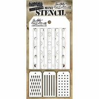 Stampers Anonymous - Tim Holtz - Layering Stencil - Mini Set 36