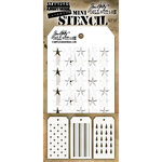 Stampers Anonymous - Tim Holtz - Layering Stencil - Mini Set 37