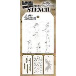Stampers Anonymous - Tim Holtz - Layering Stencil - Mini Set 38