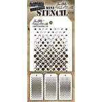 Stampers Anonymous - Tim Holtz - Layering Stencil - Mini Set 39